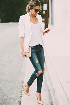Casual But Cute Spring Outfits Ideas 13
