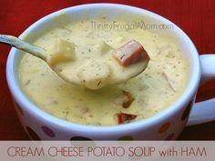 An easy, creamy potato soup with cream cheese and dill that is special enough for guests but simple enough to serve any time! Can easily be made meatless.