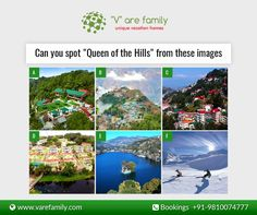 Love travelling? Help us to find out #Queenofhills from this image.  #Varefamily #Travelcost #VacationRental
