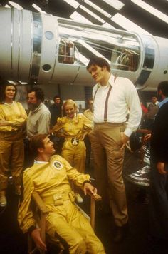 Roger Moore, Blanche Ravalec and Richard Kiel | Rare, weird & awesome celebrity photos