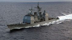 6 NATO ships to stage war games in Black sea USS Vicksburg (Photo from wikipedia.org)