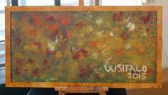"""Saatchi Art Artist Jukka Uusitalo; Painting, """"Rakas Maailma (World Beloved)"""" #art"""