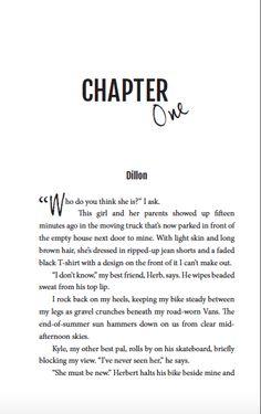 True Love Way by Mary Elizabeth, chapter header Long Brown Hair, Chapter One, Mary Elizabeth, Light Skin, Header, Book Design, True Love, Interiors, Books