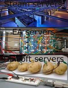 servers today this explains a lot