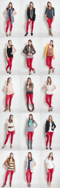 How to wear your new red jeans                                                                                                                                                                                 More