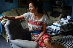 Helena Christensen for the Ladies of Castor & Pollux