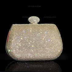 [US$ 52.99] Shining Crystal/ Rhinestone Clutches/Wristlets