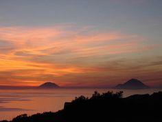 Filicudi and Alicudi. Aeolian Islands. Sicily.
