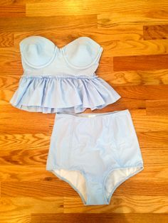 High waist swimsuit bottoms by KortniJeane on Etsy