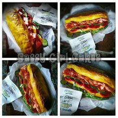 Subway Cake!