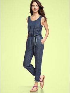 I'm in love with this GAP jumpsuit but doubt I would wear it enough to justify the purchase.