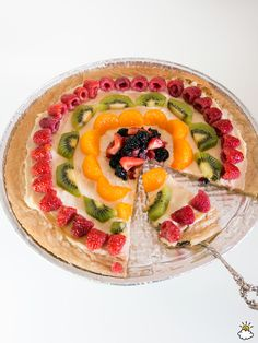 Cream Cheese Fruit Pizza Is A Sweet And Delicious Late Summertime Treat