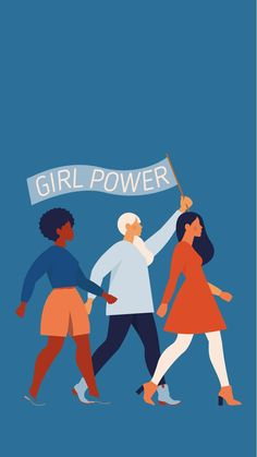 Cute Wallpapers, Wallpaper Backgrounds, Women's Day Cards, Girl Empowerment, Mom And Sister, Intersectional Feminism, Feminist Art, Art Graphique, Powerful Women