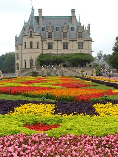 I wonder how many full-time gardeners this place has? The Biltmore Estate, Ashville, North Carolina