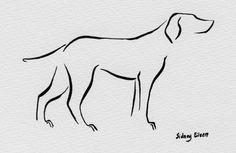 Min Dog - At Attention