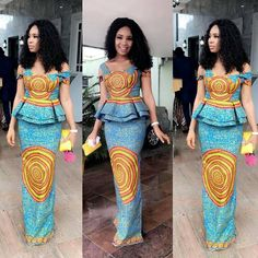 African women clothing/ African dress for prom/ African print for weddings/ African fashion outfit/A African Print Dresses, African Print Fashion, African Wear, African Attire, African Fashion Dresses, African Women, African Dress, African Prints, Africa Fashion