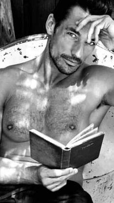 Ca va sans dire David Gandy, Black Dagger Brotherhood, Hommes Sexy, Mans World, Hairy Men, Male Beauty, Perfect Man, Gorgeous Men, Male Models