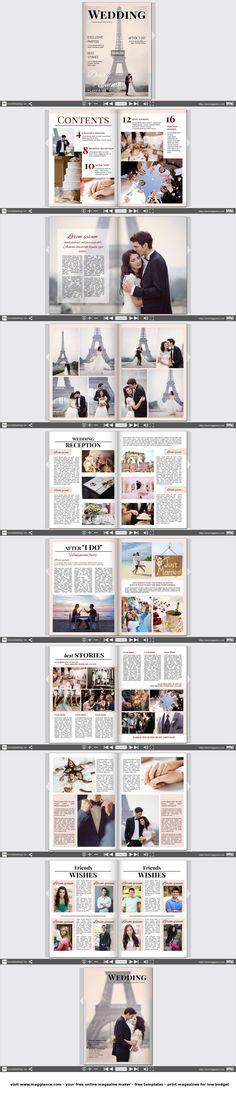 Huwelijkskrant gratis online maken en goedkoop afdrukken onder https://nl.magglance.com/huwelijkskrant/huwelijkskrant-maken #krant #magazine #huwelijkskrant #sjablonen #design #motief #voorbeeld #template #ontwerpen #samenstellen #huwelijksgeschenk #layout #idee