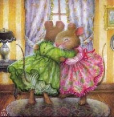 """Oh the love.  This is """"Holly Pond Hill"""" by Susan Wheeler. (I recently purchased Susan Wheeler assorted cards on Amazon.)"""