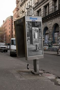 Inception-Style Phone Booth Art in NYC by Jordan Seiler (8 Pictures)