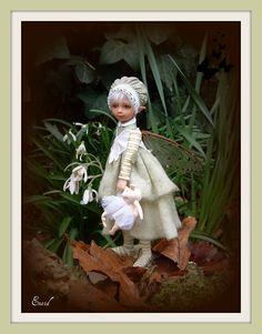 Thinka    Artist: Diane Guelinckx  Diane sculpts her dolls from ProSculpt. She lives in Belgium.