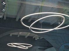 Lampada a sospensione a LED a luce diretta e indiretta in MDFHACK - ITALIA LUCE DESIGN