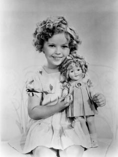 Black white shirley temple , Art and Prints at Art.com