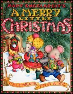 A Merry Little Christmas - Mary Engelbreit