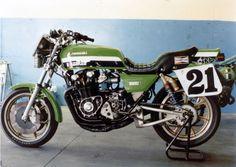 Kawasaki Kerker Z1000R for Eddie Lawson - 1982