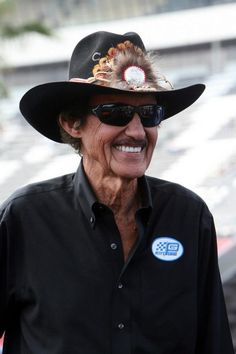 Race car driver, Richard Petty - The King of NASCAR hails from Level Cross, NC.