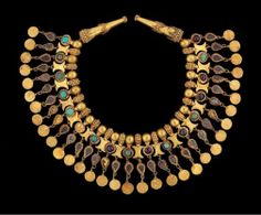 Jewelry from the exhibition, Afghanistan: Hidden treasures from the National museum, Kabul.