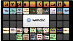 Simple Circuits Symbaloo by Emily Richeson, Check out her other symbaloos for Primary Grades http://www.symbaloo.com/profile/emilyricheson