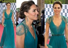 Kate Middleton, her dress is stunning!