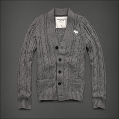 Abercrombie & Fitch - Shop Official Site - Mens - Sweaters - Cardigans - Buck Pond Sweater