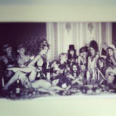 Laatste avondmaal Polaroid Film, Party, Kunst, Parties