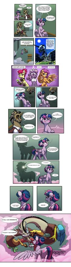 Mister Discord Part 2 by Lopoddity on deviantART