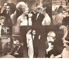 Truman Capote's Black and White Ball, Plaza Hotel, November 28, 1966