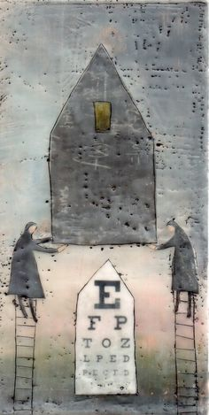 Beth Billups encaustic