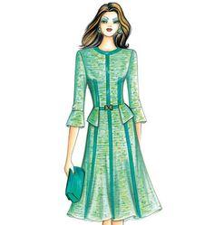 Marfy Dress...love the sleeve, love the lines. Very lady like.