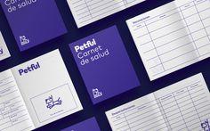 Stationary for Petful brand identity by Stundra on Behance