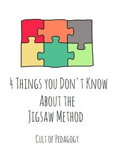 The Jigsaw Method, a powerful cooperative learning strategy that increases student engagement and social-emotional learning, is a strategy you might need to brush up on.