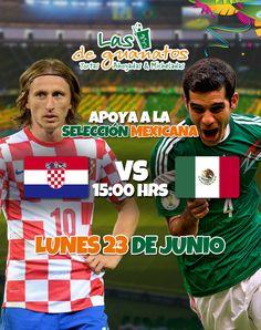 ¿Podrá México avanzar a octavos? Ven y descúbrelo con nosotros.  #Mundial #Brasil #México #2014 #WorldCup #Guanatos