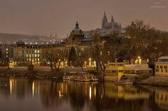 Praha-hezký pohled na Hradčany