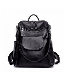 689144dc6b7 Women Backpack Purse Washed Leather Ladies Rucksack School Shoulder Bag -  CM189KE0UZC  Bags  Handbags