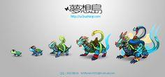 Pet Evolution by nj365 on DeviantArt
