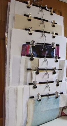 Your art studio or craft room can easily go vertical.