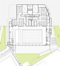 Image 14 of 16 from gallery of Club Natació Catalunya / AIA Salazar - Navarro. Plan