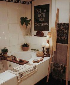 bohemian Bathroom Decor Ben je al wat aan het vera - bathroomdecor Decoration Inspiration, Bathroom Inspiration, Decor Ideas, Decorating Ideas, Boho Bathroom, Small Bathroom, Bathroom Ideas, Master Bathroom, Bathroom Organization
