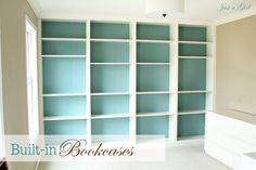 Marvelous Billy Ikea Bookcase - DIY Billy Built In Bookshelves Ikea Billy Bookcase, Bookcase Wall, Built In Bookcase, Ikea Shelves, Bookshelves Ikea, Ceiling Shelves, Bookcase White, Wall Shelves, Bookshelf Ideas