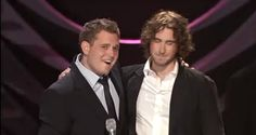 Are You Groban My Bublé? | Bahaha! Josh and Michael doing impersonations of each other's singing!